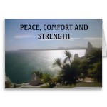 comfort peace strength