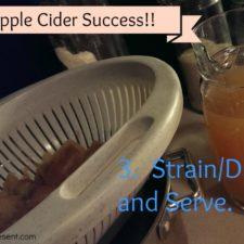 Apple Cider – I Did It!