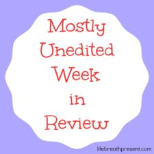 Mostly Unedited Week in Review – 7/9/14