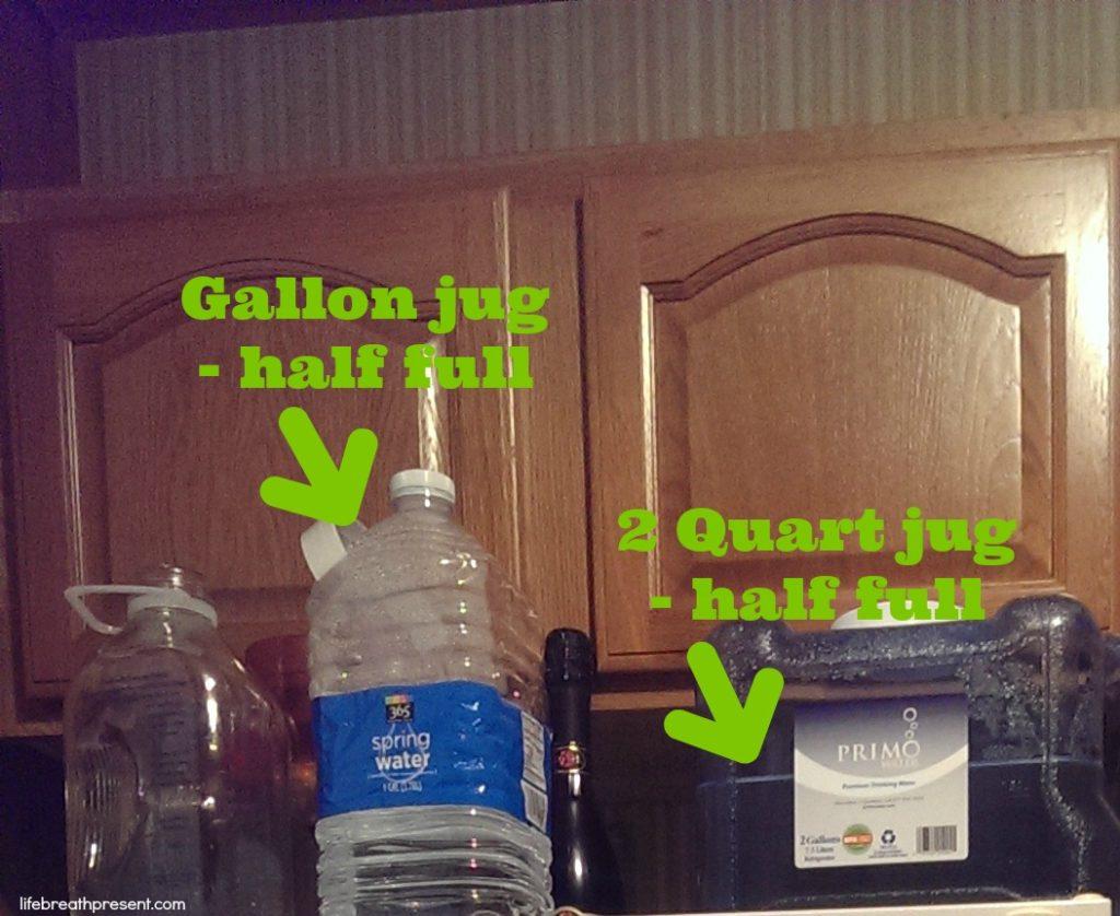 water, water jug