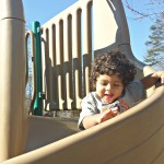 Baby Boy at the Park