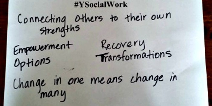 Social Work and Me + #ysocialwork