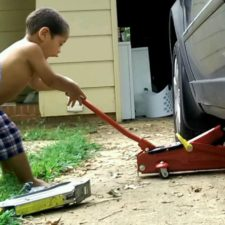 Life Skills with Toddlers: Car & Small Engine Repair