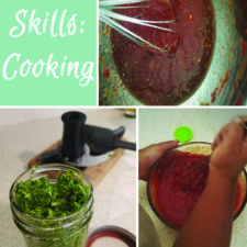 Life Skills with Toddlers: Kitchen Tasks & Cooking