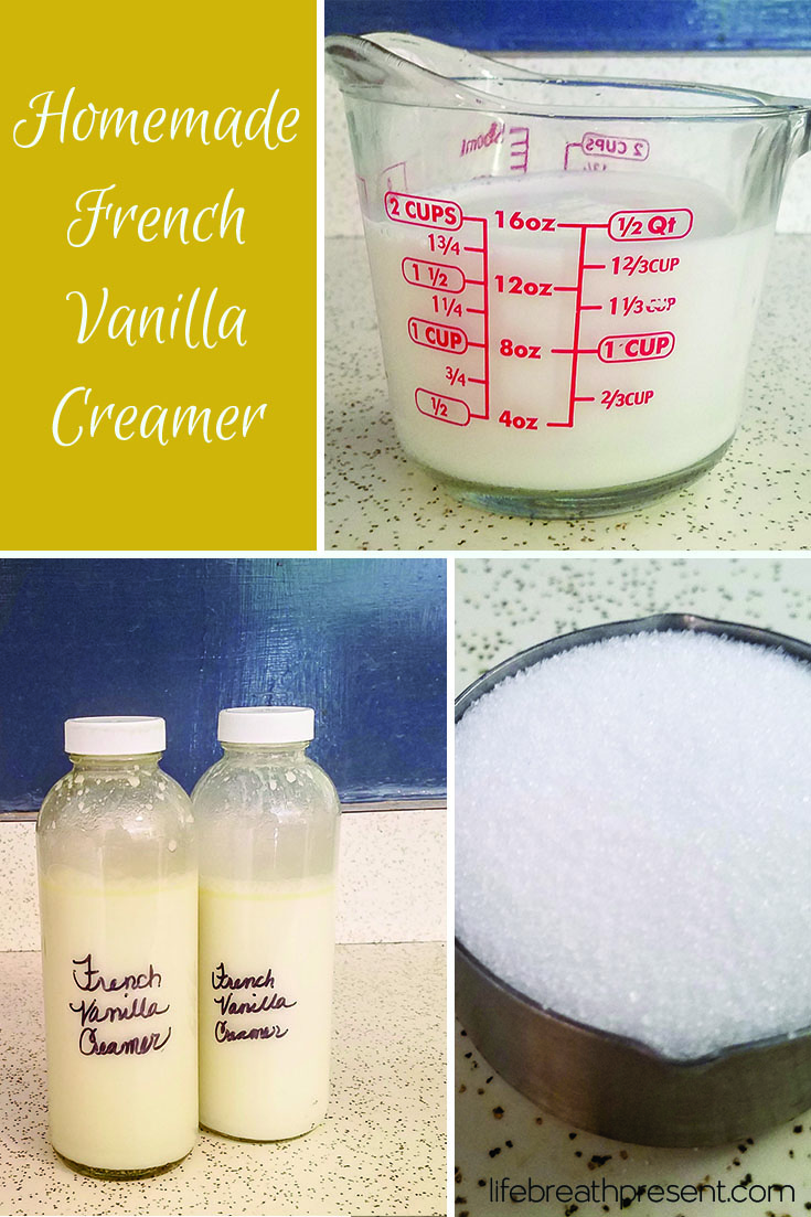 A beautifully creamy and delicious flavored creamer that can be used as is, or as a base for a ...